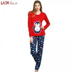 Pijama Dama Vienetta, Bumbac Interlok, 'Be Happy' Lunges, Pajama Pants, Pajamas, Graphic Sweatshirt, Sweatshirts, Happy, Sweaters, Fashion, Pjs