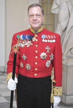 Lieutenant Colonel Christian Eugen-Olsen, Master of Ceremonies to Queen Margrethe II of Denmark (1990-2012) and Chamberlain