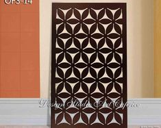 Etsy :: Your place to buy and sell all things handmade Laser Cut Screens, Privacy Panels, Thing 1, Panel Wall Art, Decorative Panels, Galvanized Steel, Outdoor Rooms, Fence, The Help