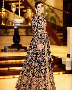 #MubashraAliMalik @mubashraalimalik in a #Sabyasachi #Couture #Firdaus Fall/Winter 2016 #HandCraftedInIndia #TheWorldOfSabyasachi