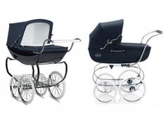 We've rounded up some of the most stylish high-end baby gear around, from cribs to gliders and strol