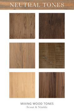 6 Tips for Mixing Wood Tones in Home Design — Scout & Nimble Hill Interiors, Wood Interiors, Cottage Interiors, Wood Interior Design, Interior Wood Stain, Wood Stain Colors, White Oak Floors, Black Interior Doors, Wood Bedroom
