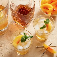 I'm checking out a delicious recipe for Bourbon Arnold Palmer from kroger!