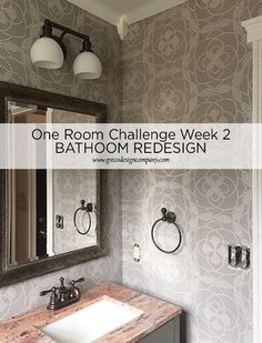 Small Space Bathroom Redesign – One Room Challenge™ WEEK 2