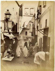 ND. Phot. Algérie, Une rue de la Casbah    #Afrique_Africa #Algérie