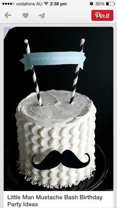Moustache cake, tache, kids, children, boy, theme, birthday party, idea