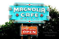 Magnolia Cafe Austin Texas by SimoneEpiphany on Etsy, $10.00