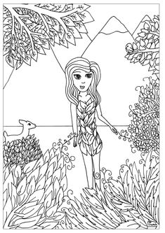 Free coloring page coloring-adult-india-puja-rite. Coloring page ...