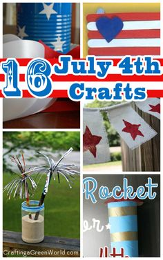 Independence Day is this weekend! If you need some last-minute decorations or activities, we've got 16 easy 4th of July crafts for you and the kids.