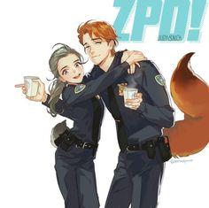 Boa tarde pessoal! Tudo bom? Quase todos os animais da Disney tem suas versões humanas, e com Judy e Nick não foi diferente. Quero que me co...