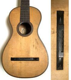 Planos de la vihuela instrumento del siglo xvi con 6 cuerdas puente de dos partes guitarra juan muoa de 1818 publicscrutiny Gallery