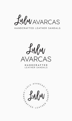 Lulu Avarcas approached Inkee Press to create them a savvy new logo design and business cards for their business which produces handcrafted leather sandals manufactured in Spain. They were after a are a chic, modern and edgy look to complement their take on the traditional Spanish Avarca. They requested a part of the logo be in a handdrawn font, that could also be easily transferred to their sandals through heat branding.