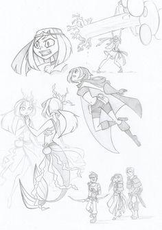 fantasy sketch by kikaigaku on deviantART