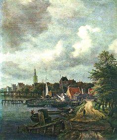 Ruysdael, Jacob van (Dutch, 1628-1682) - View of Amsterdam