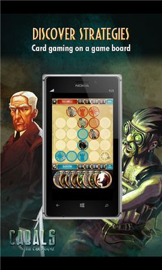 Windows Phone Store download link for Cabals on Windows Phone 8 Battle Card Games, Phone Store, Windows Phone, Board Games, Mystic, Folklore, Gain, Invite, Video Games