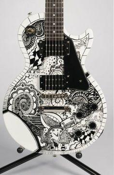 Ganadores del concurso Rhythm & Blooms Guitar Design
