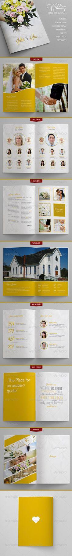 Portfolio Template   Brochures Brochure Template And