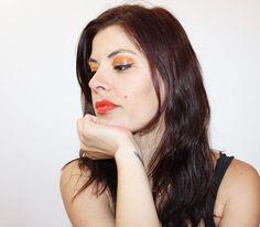 maquillage orange Sweet Makeup, Challenges, Beautiful, Orange Makeup, Soft Makeup