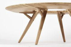 120cm large Grit coffee table buttom view