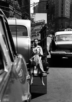 View Sandra Mirror, Times Square, New York Vogue by William Klein on artnet. Browse upcoming and past auction lots by William Klein. History Of Photography, Artistic Photography, Street Photography, Fashion Photography, People Photography, Herbert List, Man Ray, William Klein, Times Square New York