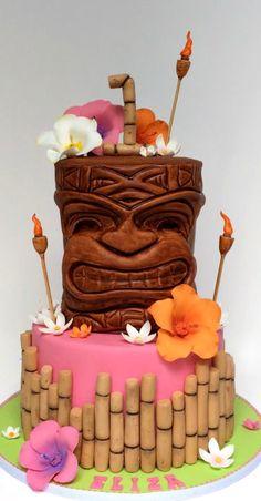 Pink Tiki Cake #coupon code nicesup123 gets 25% off at  Provestra.com Skinception.com