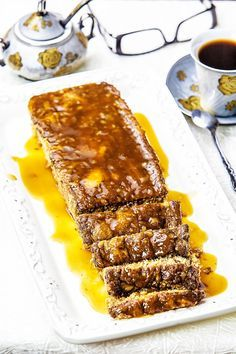Romanian Food, Tasty, Yummy Food, Dukan Diet, Caramel, I Foods, French Toast, Bakery, Deserts
