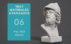 Vray Materiales Avanzados - Parte 06 - VrayFastSSS2 - Marmol