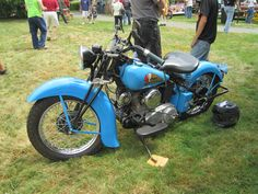 1941 Indian 741 Scout – Indian Motocycle Day: July 21, 2013
