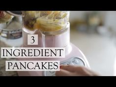 THREE INGREDIENT PANCAKES!! ( X TSC 'SYRUP' ) – The Skinny Confidential