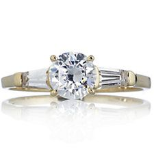 Diamonique 1.5ct tw Fancy Cut Solitaire Ring 14ct Gold Solitaire Ring, Fancy, Engagement Rings, Cut, Gold, Stuff To Buy, Jewelry, Fashion, Enagement Rings