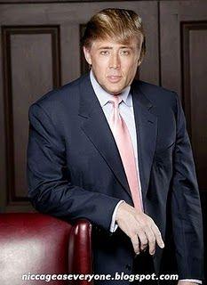 Nic Cage as Donald Trump