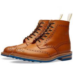END. X TRICKER'S CLUB SOLE STOW BOOT Acorn & Blue $529.00