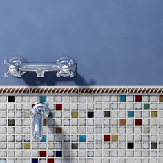 Somertile Tuscan Spiral Cascade Ceramic Mosaic Tiles (Pack of 10)   Overstock™ Shopping - Big Discounts on Somertile Wall Tiles
