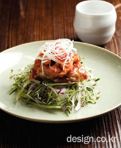 Oriental Food, Korean Food, Kimchi, Asian Recipes, Cabbage, Vegetables, Cooking, Plating, Kitchen
