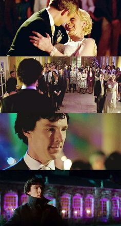 My best friend Margaret… I remember she left early. I mean, who leaves a wedding early? -- John, Mary and #Sherlock series 3 episode 2: The Sign of Three
