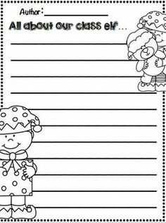 December Writing Activities for 1st-2nd Grade! SO many fun writing ...