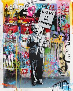 Graffiti Tattoo, Banksy Graffiti, Street Art Graffiti, Arte Banksy, Banksy Prints, Banksy Artwork, Street Art News, Banksy Canvas, 3d Street Art
