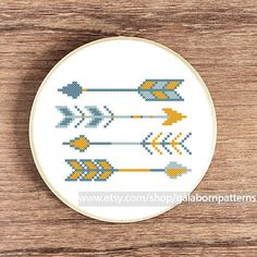 Arrows cross stitch pattern cross stitch by galabornpatterns