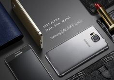 Samsung Galaxy Alpha shows off metal frame (pictures) Samsung has built a metal mobile at last. Check out these official pictures of the Galaxy Alpha, which also sports a display. Samsung Galaxy Alpha, Galaxy A5, Technology Updates, Web Technology, Android, Mobiles, Quad, Smartphone, Latest Mobile
