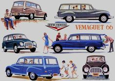 1966 DKW Vemag Vemaguete Advertising History, Volkswagen, Work Horses, Cars And Motorcycles, Vehicles, Lord, Posters, Rings, Old Advertisements