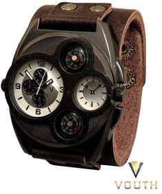 Relógio Bracelete Vouth  Visite nossa FanPage : https://www.facebook.com/Passarella-Brasil-212170078859412/?fref=ts Visite nosso site: www.passarellabrasil.com.br   #passarellabrasil  #relógiovouth  #vouth