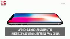 Apple to cancel iPhone X
