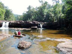 Waterfall near Koh Kong City