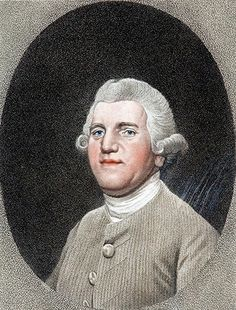 """Josiah Wedgwood, 1795. Engraving by George Stubbs.Credit: Rex Features  (1730 – 1795) was an English potter, founder of the Wedgwood company, credited w/the industrialisation of the manufacture of pottery. A prominent abolitionist, Wedgwood is remembered for his """"Am I Not a Man And a Brother?"""" anti-slavery medallion. Member of the Darwin–Wedgwood family. He was the grandfather of both Charles Darwin and Emma Darwin."""