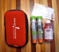 EpiPen epinephrine case, food allergy