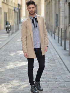 48 Best Mens Trench Coats images   Man fashion, Trench coat men ... de58242651e4