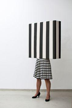Standing stripes, 2014 sculpture Guda Koster www.gudakoster.nl