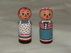Raggedy Ann and Andy by fanciefannies on Etsy, $10.00