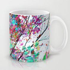 Autumn 8 Mug by Mareike Böhmer Graphics - $15.00