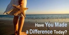 starfish making a difference - Google Search